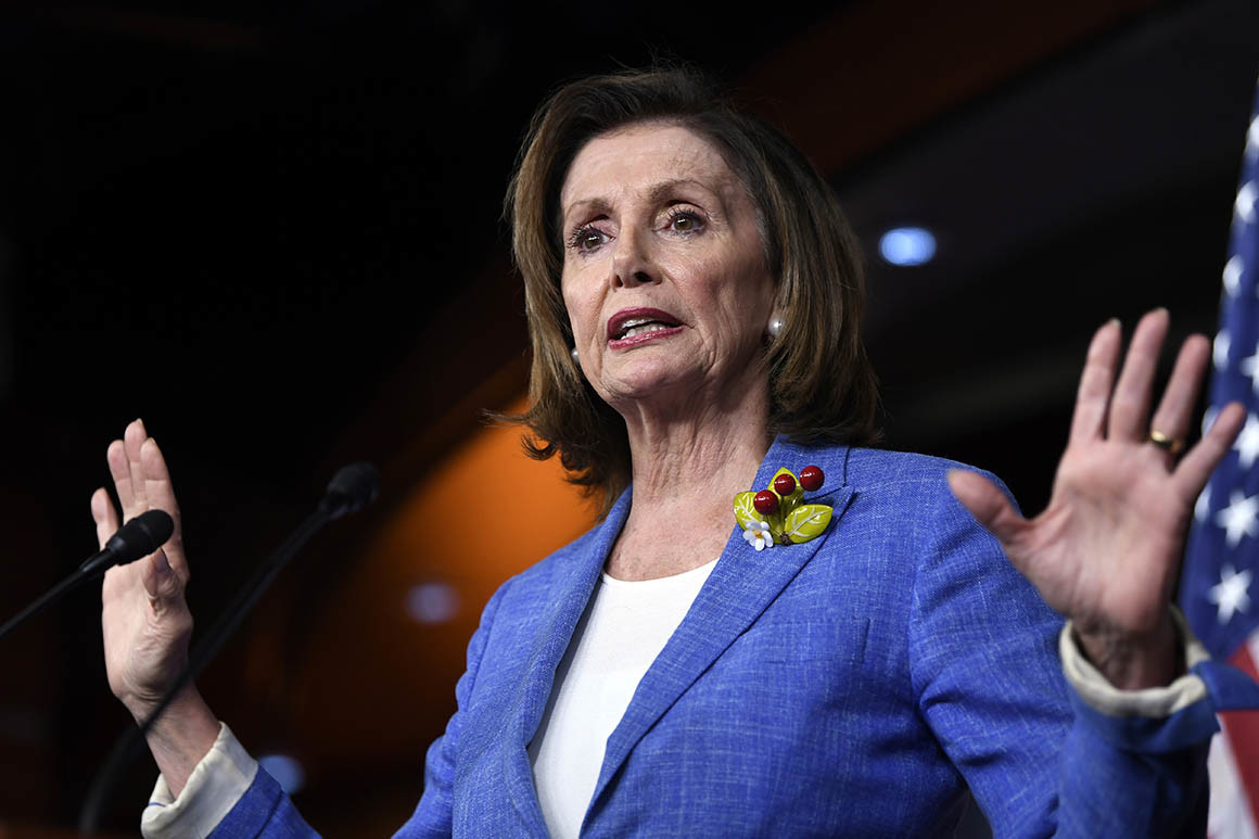 Nancy Pelosi rejects impeachment
